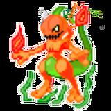 Pumpkin Mewtwo