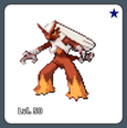 Blaziken Shiny Example