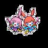 Twins Jirachi