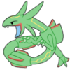 Doodle Rayquaza