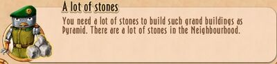 Task Line - 02 AtH - 14 A lot of stones