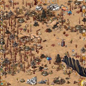 Garbagebot Valley map