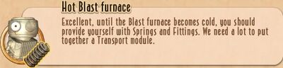 Task Line - 10 TtNL - 04 Hot Blast furnace