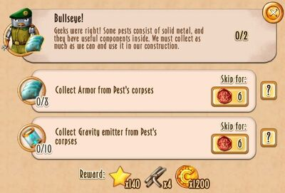 Tasks - Bullseye!