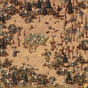 Signal Zone map