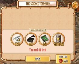 Unlock - The Science Township
