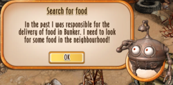 Message 010 - Search for food - 01.005