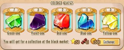 Collections - Colored Glasses