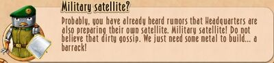 Task Line - 12 SE - 18 Military satellite?