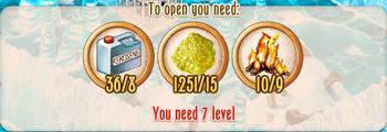 Ice Cave - unlock cost