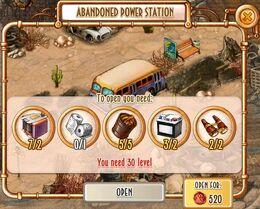 Unlock Abandoned Power Station territory