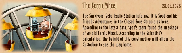 Update - 2018 06 27 - The Ferris Wheel