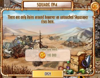 Area - Square №4