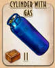 Cylinder with Gas