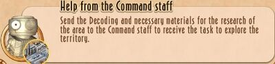 Task Line - 10 TtNL - 06 Help from the Command staff