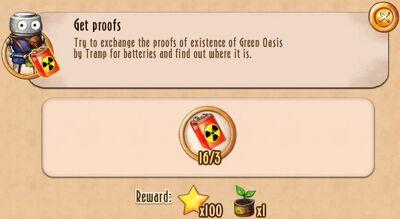 Tasks - Get proofs