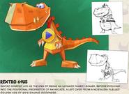 Rextro Concept Art Manual