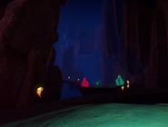 Gloomy Gem Grotto Pathway