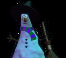 Witch Snowman