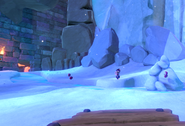 Igloo Cliffs Entrance