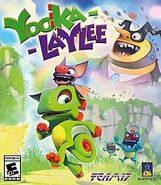 Yooka-Laylee cover art