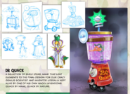Dr. Quack Concept Art Digital Artbook Manual