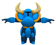 Shovel Knight Render