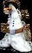 Cowboy Snowman Cropped