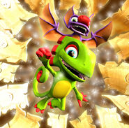 Yooka-Laylee Going Gold Pagies
