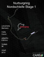 Nürburgring Nordschleife Stage 1