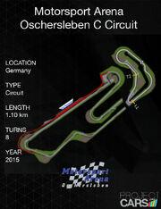 Motorsport Arena Oschersleben C Circuit