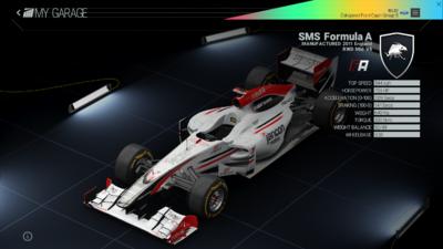 Project Cars Garage - SMS Formula A