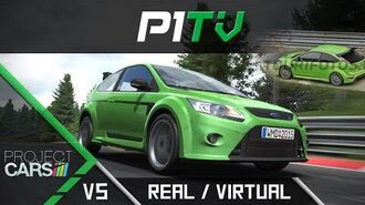 Project CARS VS Real Life Nordschleife Comparison - Ford Focus RS 50FPS