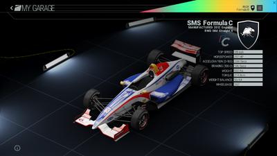 Project Cars Garage - SMS Formula C