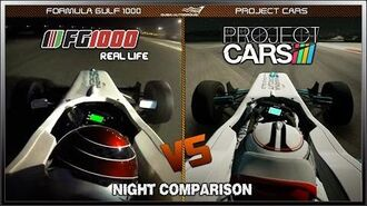 Project CARS vs Real Life - Night Comparison ~ Formula Gulf 1000 @ Dubai ~