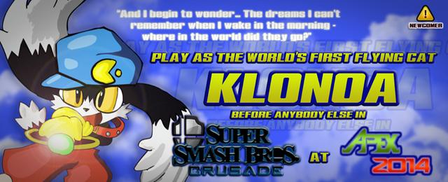 File:Klonoa in Super Smash Bros Crusade NEWCOMER!!!.png