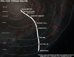 Raltor Trade Route