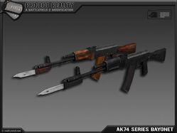AK-74 Series Bayonet