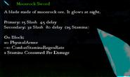 Moonrock Sword Stats