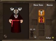 Mask bone robe awoken