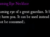 Ancient Flaming Eye Necklace