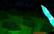 Moonrock Sword and Effect