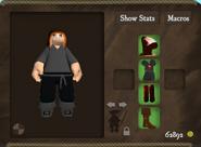 Pirate tunic wanderer set