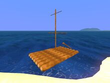 Overworld Sailing Raft