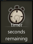 Timer seconds remaining