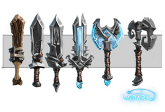Weapons - Swords and axe