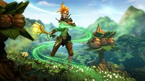 Champion- Avalon the Druid