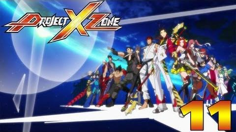 Project X Zone - English Walkthrough Part 11 Chapter 6 Justice Among the Skyscrapers HD
