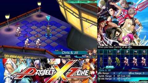 Project X Zone - English Walkthrough Part 5 Prologue 5 Dead Re-Rising HD