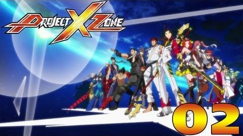 Project X Zone - English Walkthrough Part 2 Prologue 2 Where The Strong Survive HD